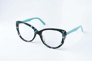 Armação Óculos de Grau Perla Prado - ref: Tiffany