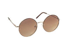 Óculos de sol Perla Prado ref: Óculos San Pietro Marrom