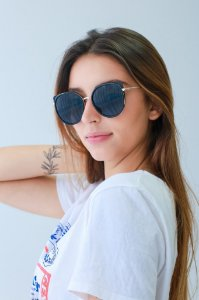 Óculos de sol Perla Prado ref: Óculos Capri Italy Preto