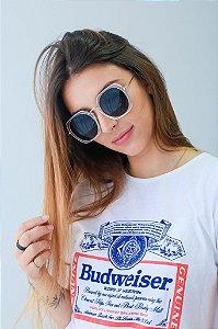 Óculos de sol Perla Prado ref: Óculos Angra transparente