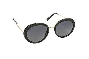 Óculos de sol Perla Prado ref: Solar Monaco Preto