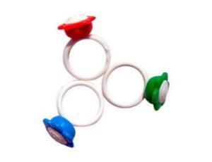 Mini Brinquedo Anel Flor - 25 Unidades