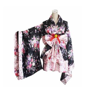 Fantasia Kimono Adulto Tam P - Usado