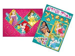 Kit Decorativo Princesas Amigas