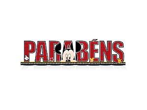 Decoração de Mesa Parabéns Mickey Clássico