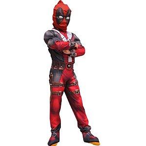 Fantasia Infantil Deadpool Tam Único