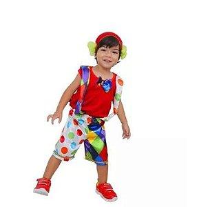 Fantasia Palhaço Baby Infantil Tam P