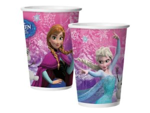 Copo Papel 180ml Frozen 8 Unidades