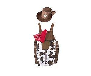 Fantasia Infantil Cowboy Menino Tam GG