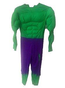 Fantasia Infantil Incrível Hulk Tam M