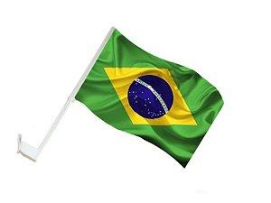 Bandeira Brasil com Cabo para Automóveis