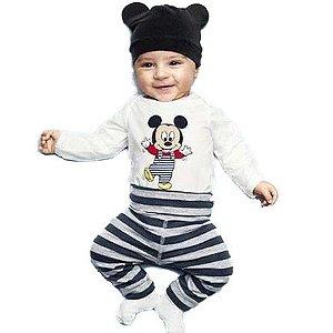 Conjunto Mickey com Touca