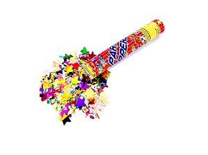 Lança Confete Estrela Laminado 28cm
