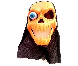 Máscara Abóbora com Luz
