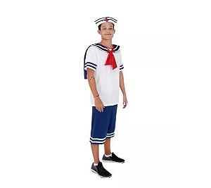 Fantasia Marinheiro Adulto - Tam GG