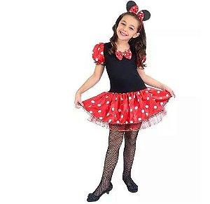 Fantasia Minnie Infantil - Tam G