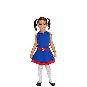 Vestido Moon Infantil - Tam 10