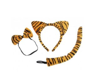 Kit Bichos Tigre Amarelo Claro