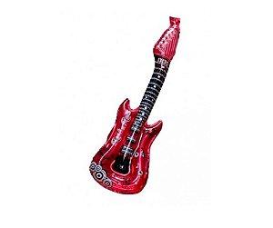 Balão de Ar Guitarra Rosa