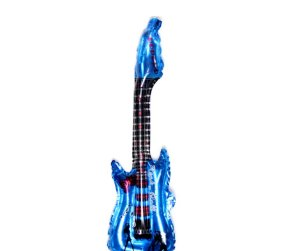 Balão de Ar Guitarra Azul