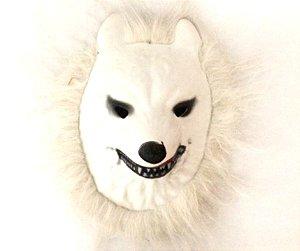Mascara Bichos Lobo Branco