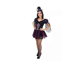 Fantasia Bruxa Morgana - Adulto  - Tam M - Aluguel