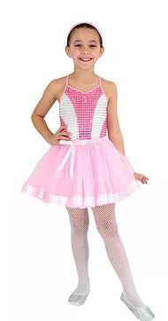 Fantasia Bailarina Glamour - Infantil - Tam 2