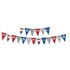 Bandeirinha para docinhos Arlequina