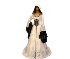 Fantasia Pagã Medieval feminino tamanho G- Usado