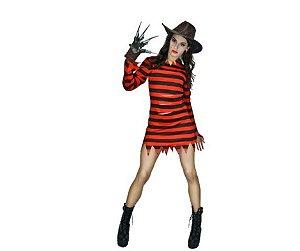 Fantasia Freddy krueger Feminino - Usado