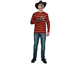 Fantasia Freddy Krueger masculino - Usado