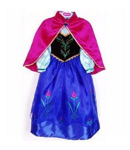 Fantasia Princesa Anna- Infantil - Tam 10