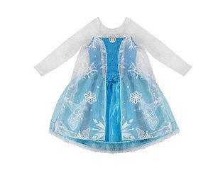Fantasia Elsa infantil tam 2