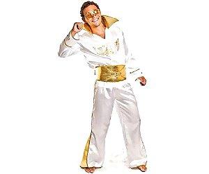 Fantasia Elvis Presley adulto tam M - Aluguel