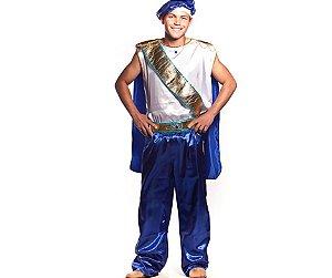 Fantasia Príncipe Felipe Adulto tam G - USADA