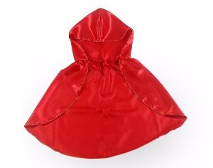 Acessório capa vermelha adulto