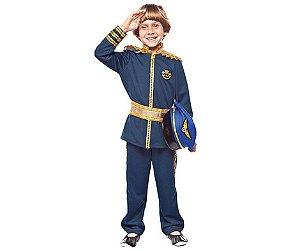 Fantasia Força Aérea menino infantil tam 12