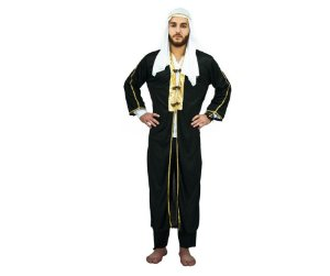 Fantasia Príncipe Árabe adulto tam U - Aluguel