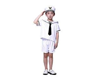 fantasia Marinheiro infantil tam 12 - Aluguel