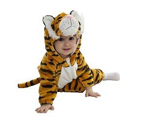 Fantasia de pelúcia Tigre infantil unissex tam: 18-23 meses