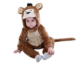 Fantasia de pelúcia Macaco infantil unissex tam: 18-23 meses
