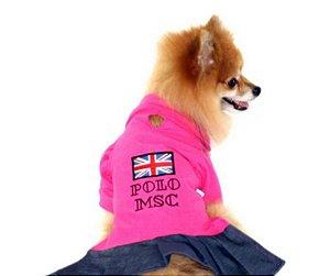 Vestido Polo para Pet tam G