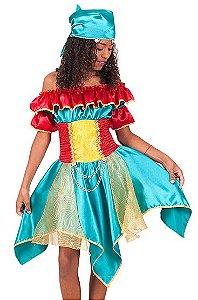 Fantasia Cigana infantil tam 14 - Usada