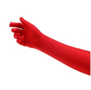 Luvas vermelha 40 cm