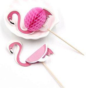 Palito Flamingo pct com 10 und