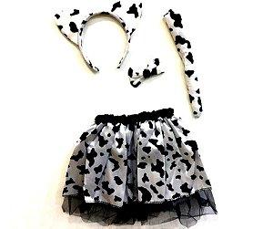Fantasia Conjunto Vaca infantil