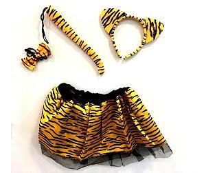 Fantasia conjunto Tigresa infantil