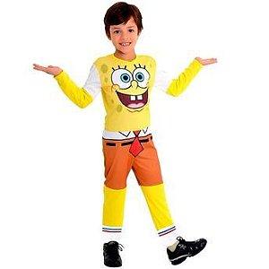 Fantasia Bob Esponja infantil Tam P