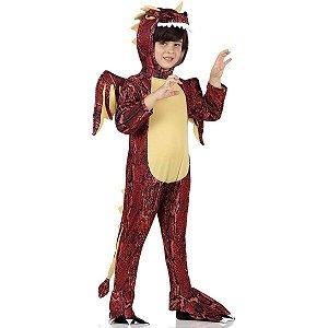 Fantasia Dragão Infantil  Tam P 2 a 3 Anos