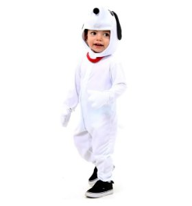 Fantasia Snoopy inf Tam M  5 a 6 anos
